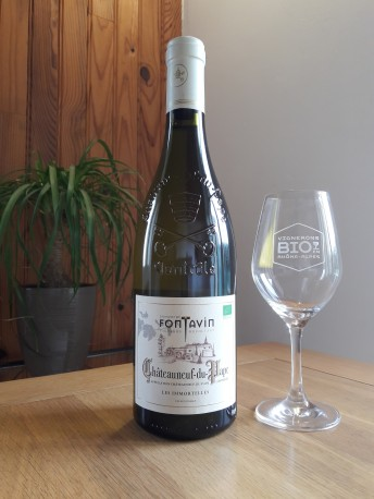 """Châteauneuf-du-Pape Blanc """"Les Immortelles"""" Domaine Fontavin"""